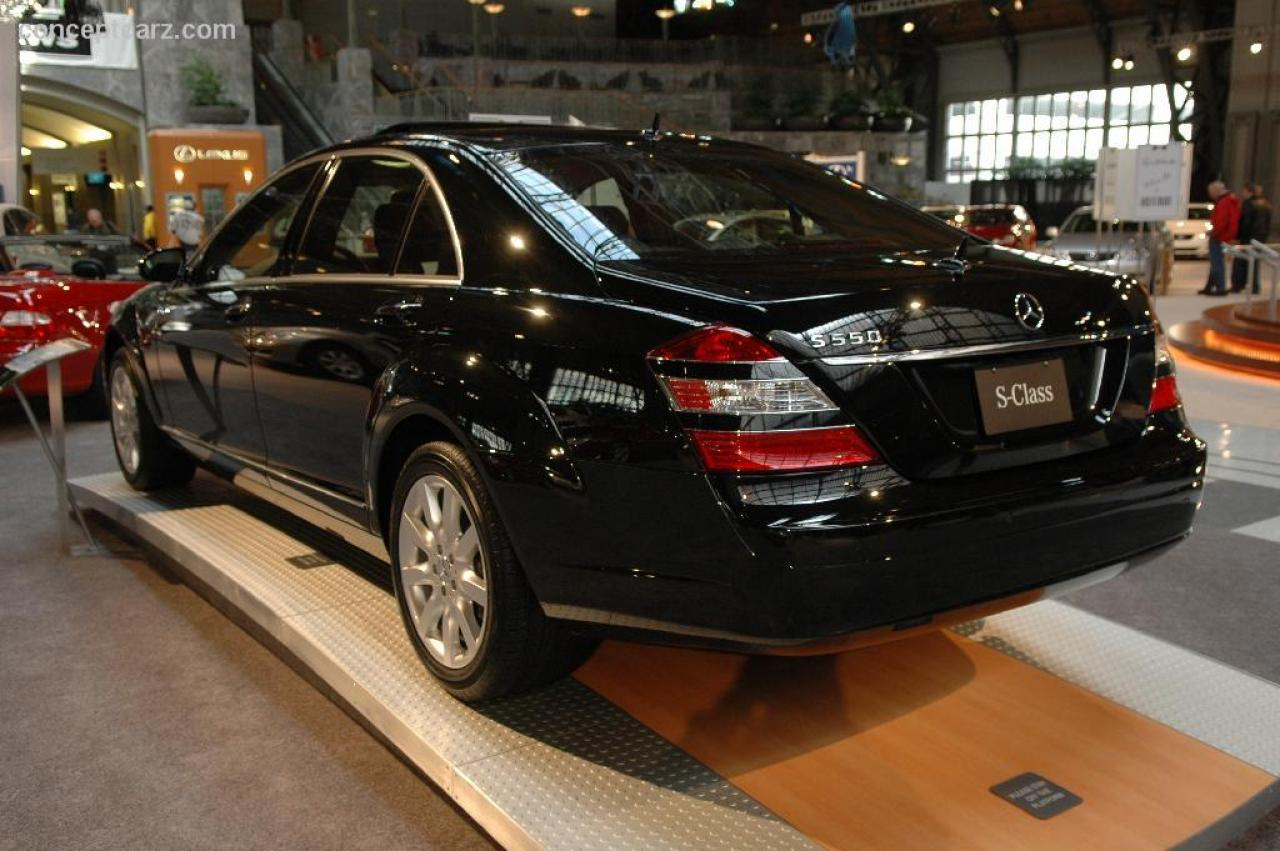 2006 mercedes benz s class information and photos zombiedrive. Black Bedroom Furniture Sets. Home Design Ideas