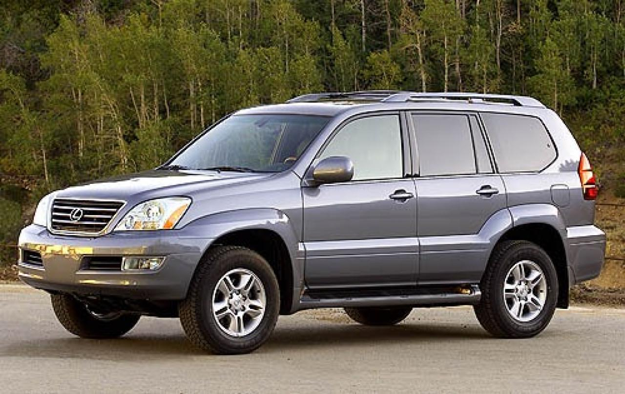 2007 lexus gx 470 information and photos zombiedrive. Black Bedroom Furniture Sets. Home Design Ideas