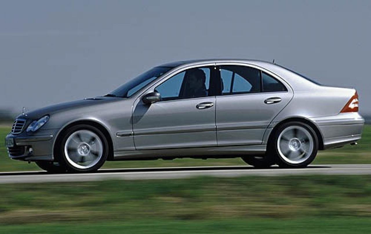 2006 mercedes benz c class information and photos zombiedrive. Black Bedroom Furniture Sets. Home Design Ideas