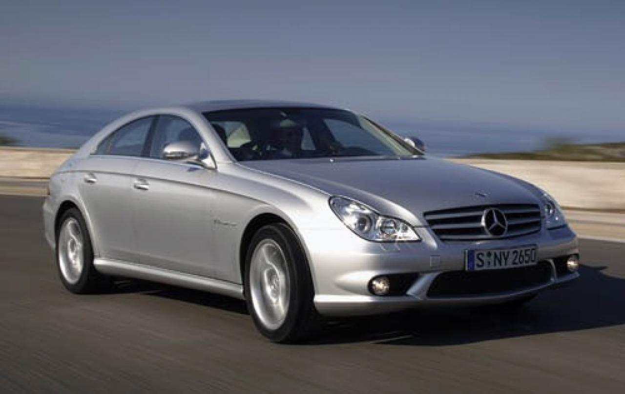 2006 mercedes benz cls class information and photos