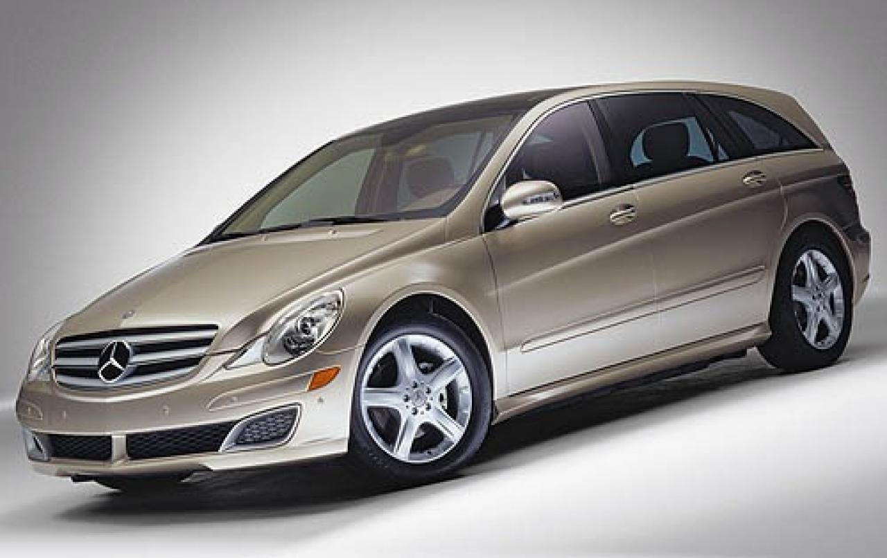 2006 mercedes benz r class information and photos zombiedrive. Black Bedroom Furniture Sets. Home Design Ideas
