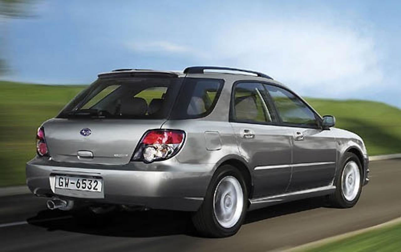 2006 Subaru Impreza Information And Photos Zombiedrive