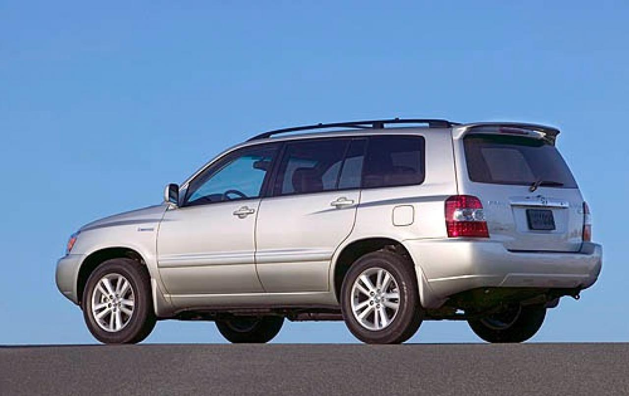 2006 toyota highlander hybrid information and photos zombiedrive. Black Bedroom Furniture Sets. Home Design Ideas