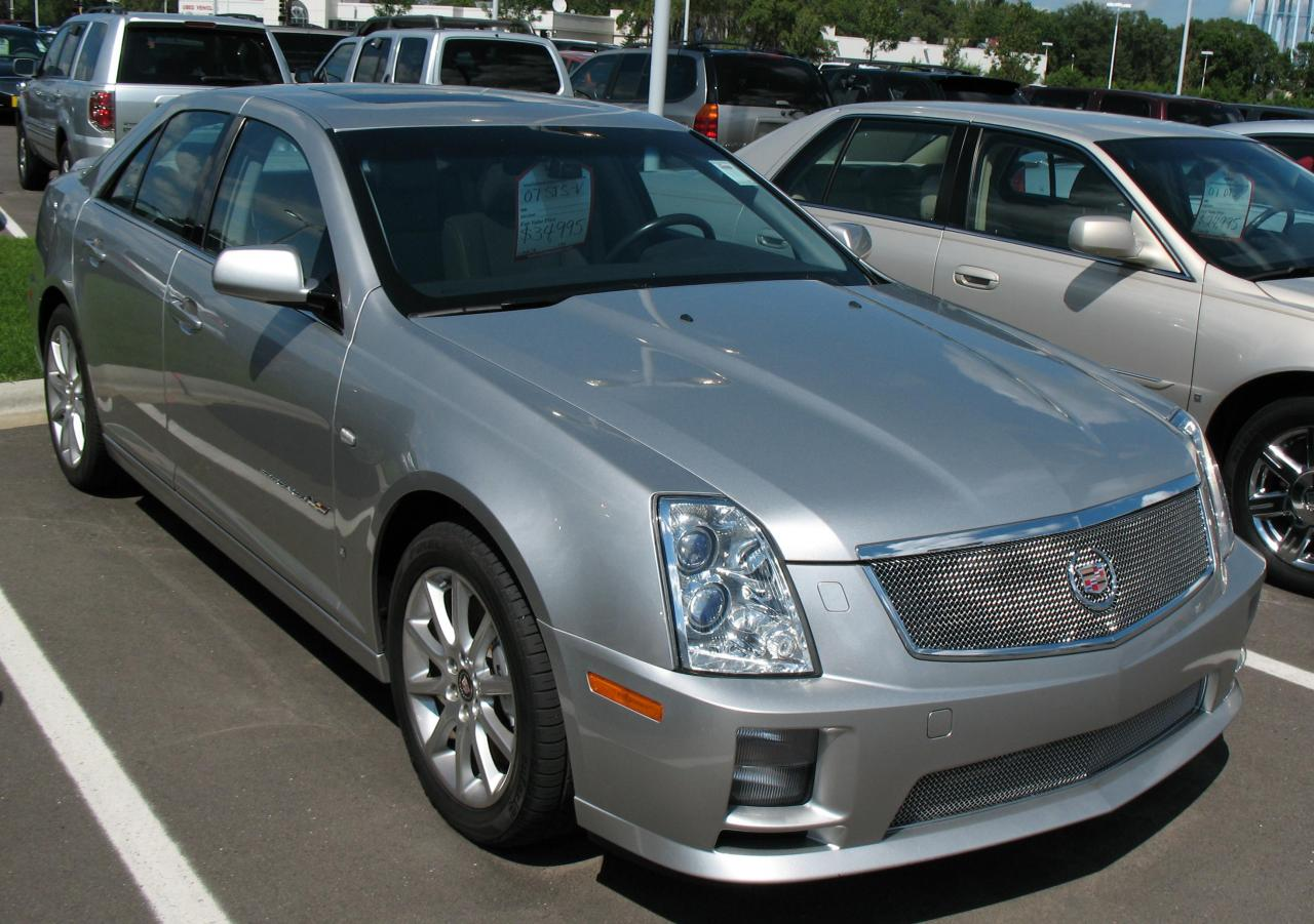 2007 cadillac sts v information and photos zombiedrive. Black Bedroom Furniture Sets. Home Design Ideas