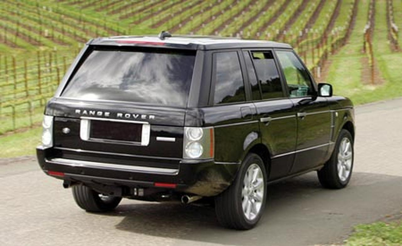 2007 land rover range rover information and photos zombiedrive. Black Bedroom Furniture Sets. Home Design Ideas