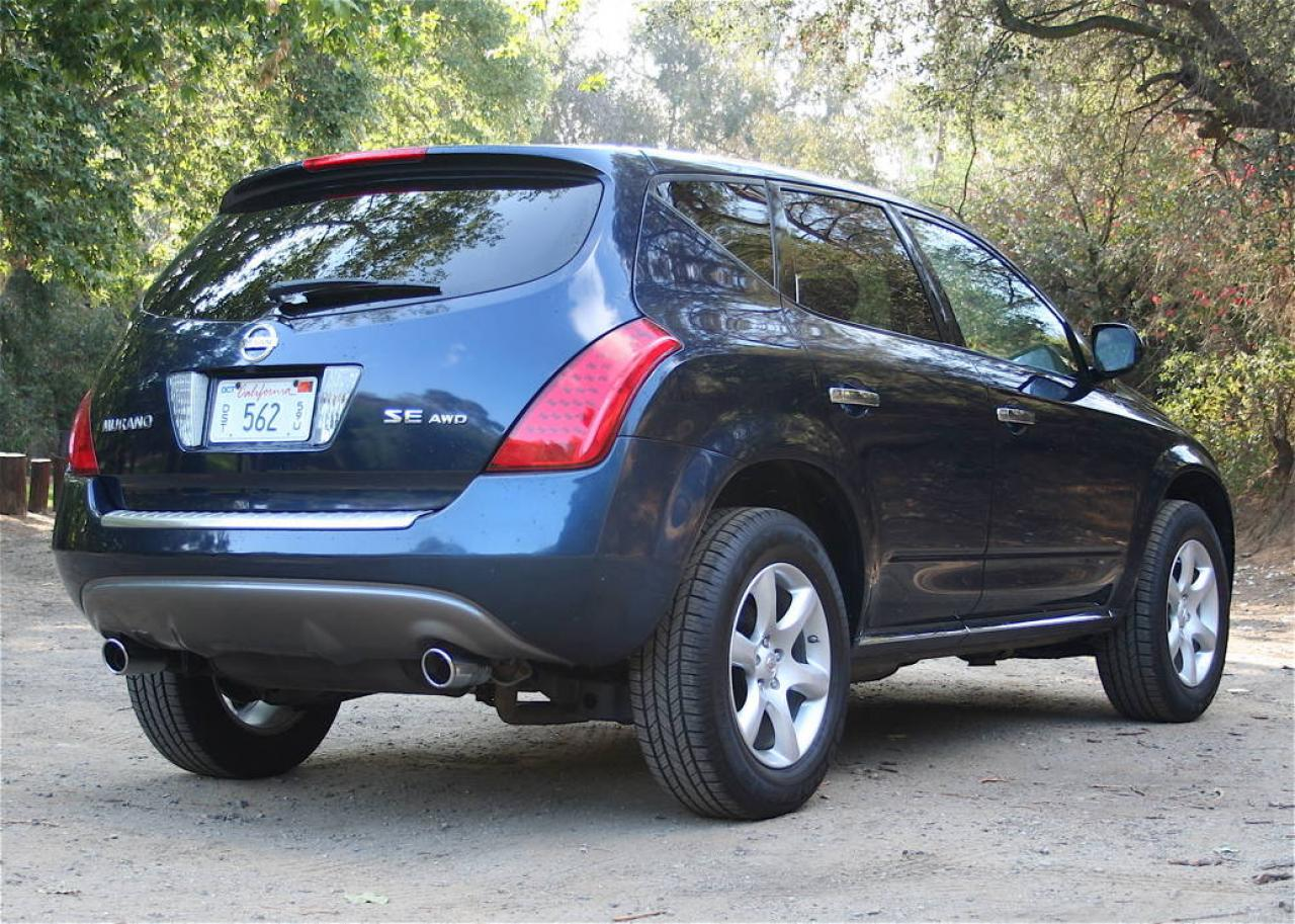 2007 nissan murano information and photos zombiedrive. Black Bedroom Furniture Sets. Home Design Ideas