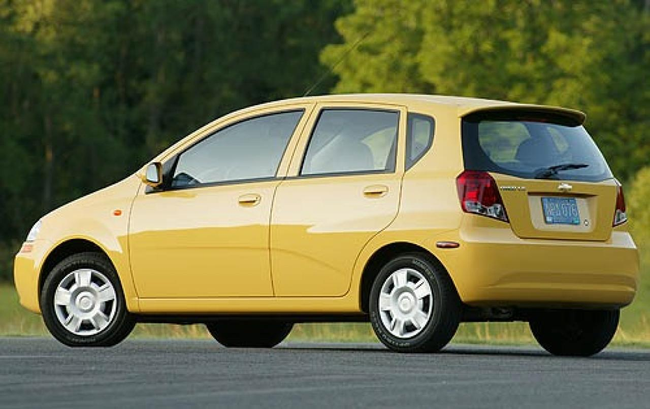 2007 chevrolet aveo information and photos zombiedrive. Black Bedroom Furniture Sets. Home Design Ideas