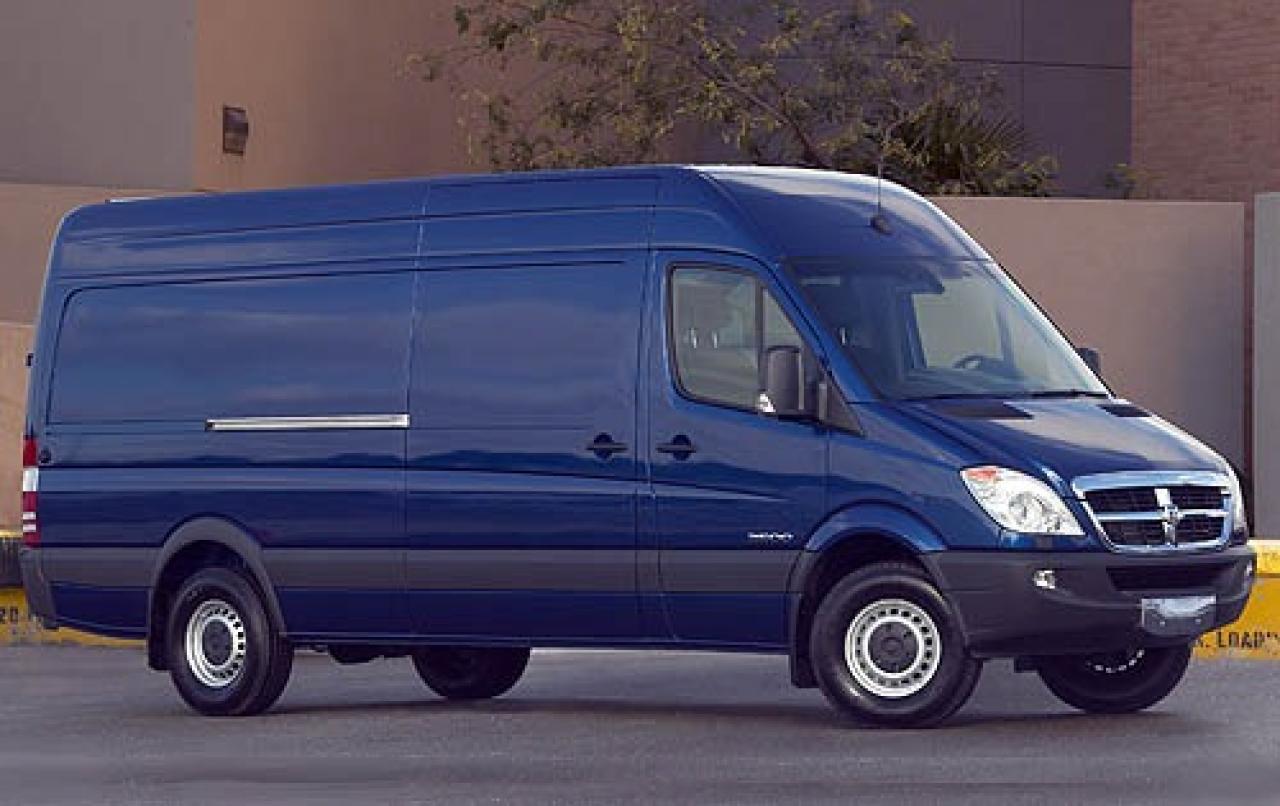 2008 dodge sprinter cargo information and photos. Black Bedroom Furniture Sets. Home Design Ideas