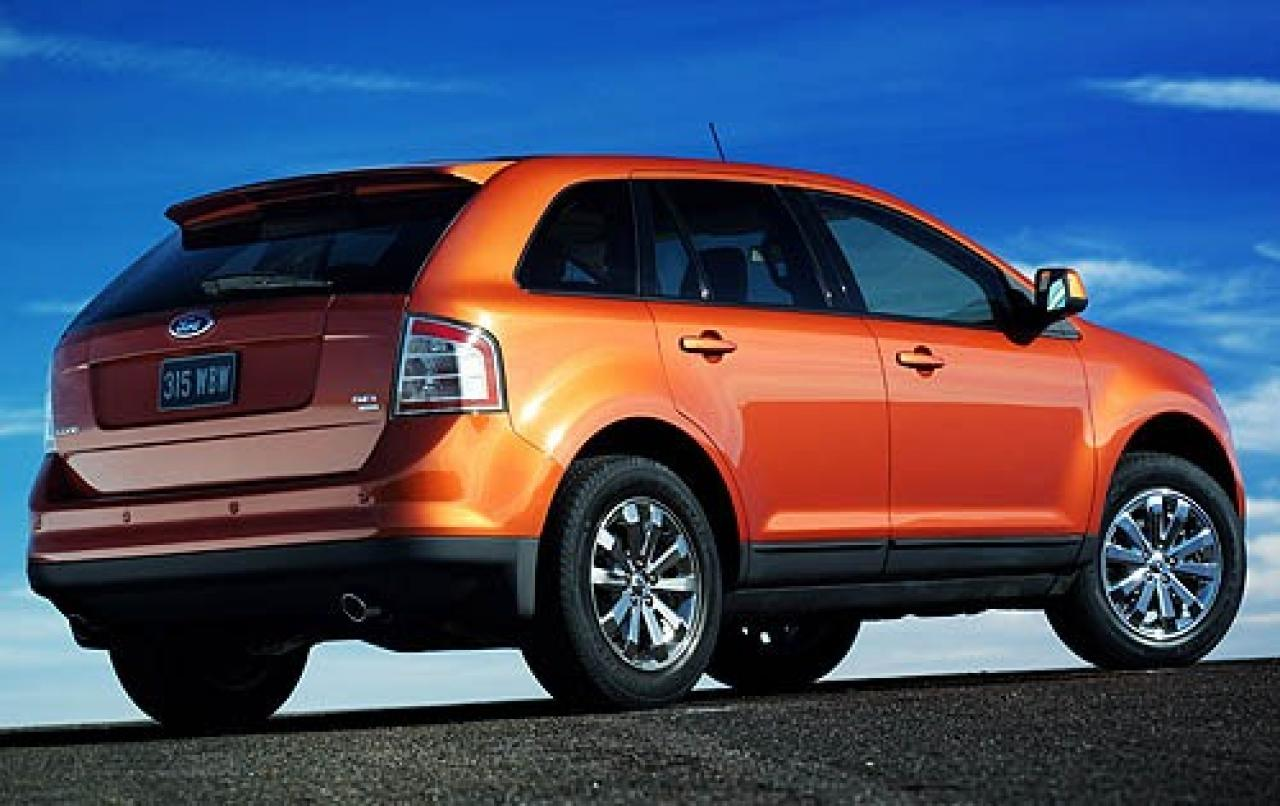 2007 ford edge information and photos zombiedrive. Black Bedroom Furniture Sets. Home Design Ideas