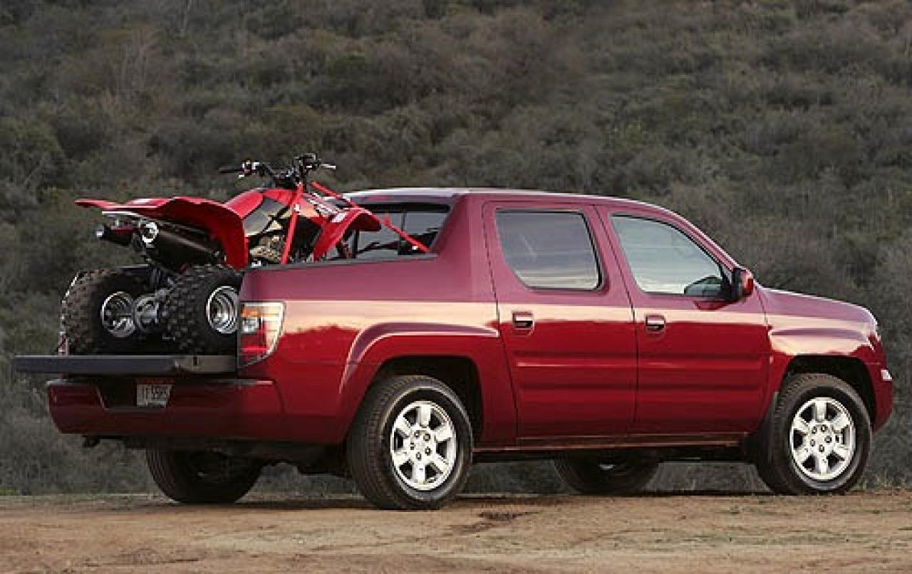 2007 honda ridgeline information and photos zombiedrive. Black Bedroom Furniture Sets. Home Design Ideas