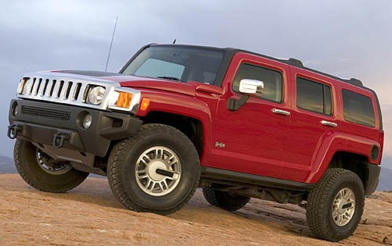 2007 hummer h3 information and photos zombiedrive. Black Bedroom Furniture Sets. Home Design Ideas