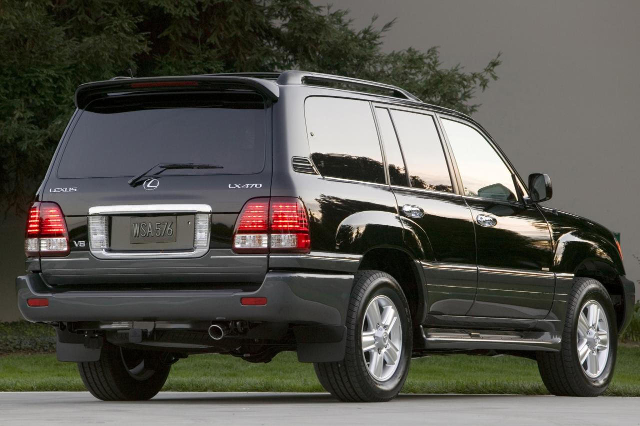 2007 lexus lx 470 information and photos zombiedrive. Black Bedroom Furniture Sets. Home Design Ideas