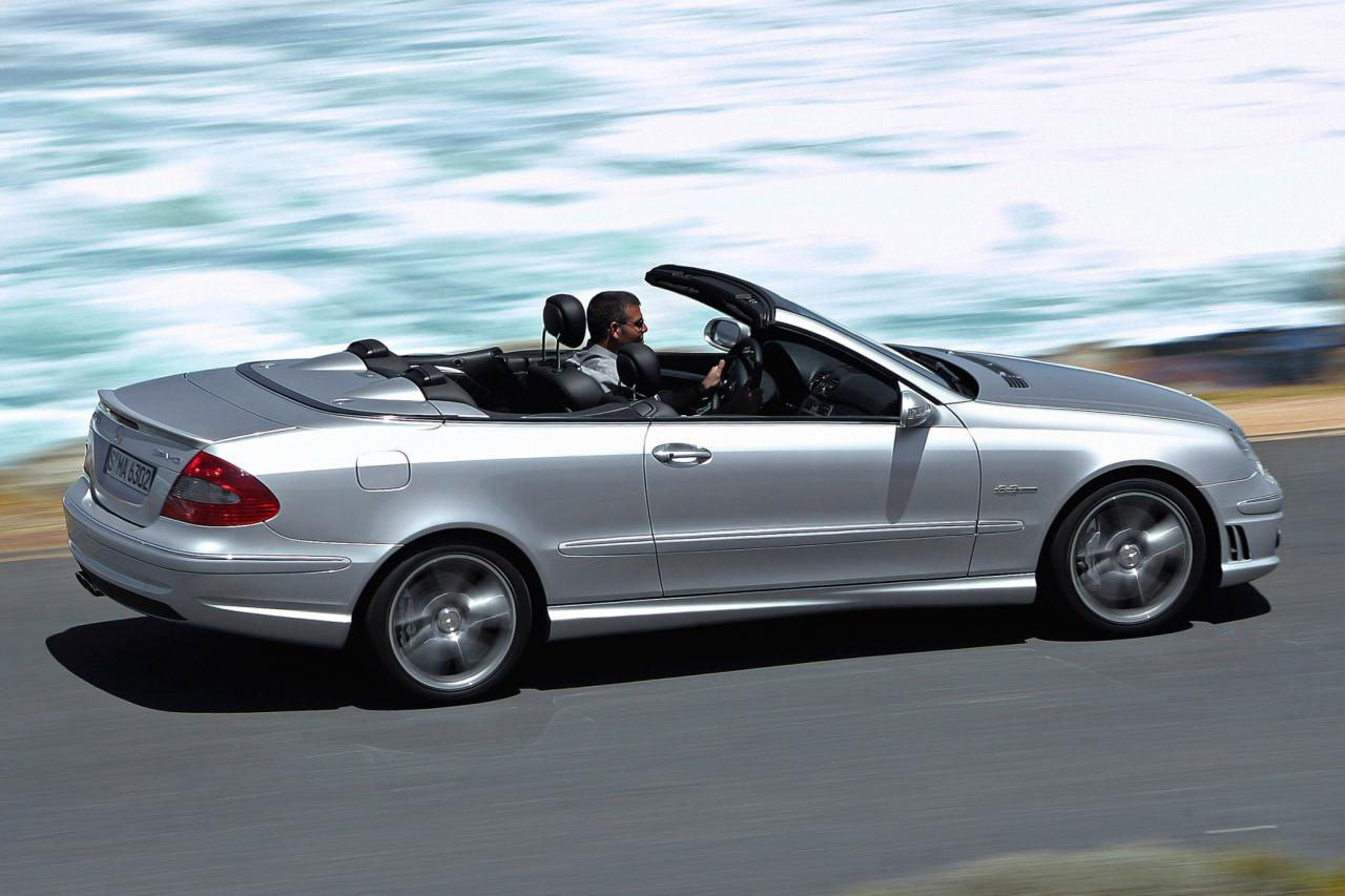 2007 mercedes benz clk class information and photos for 2007 mercedes benz clk