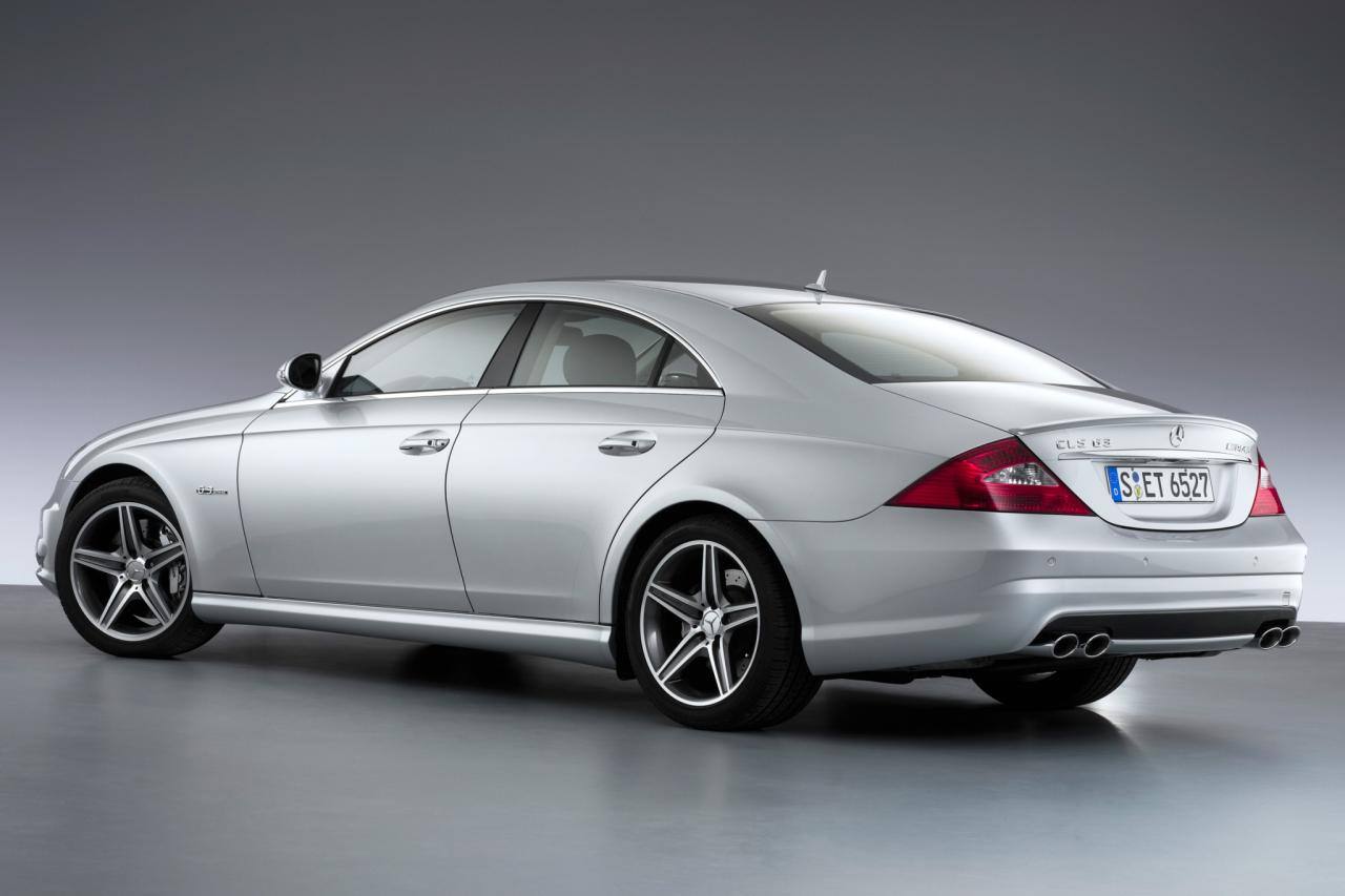 2007 mercedes benz cls class information and photos. Black Bedroom Furniture Sets. Home Design Ideas