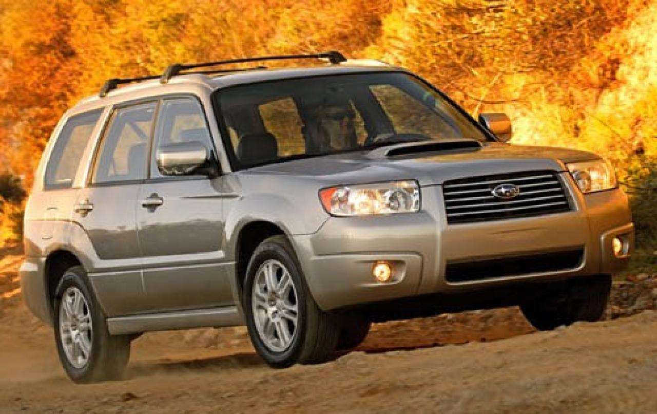 2007 Subaru Forester - Information and photos - ZombieDrive