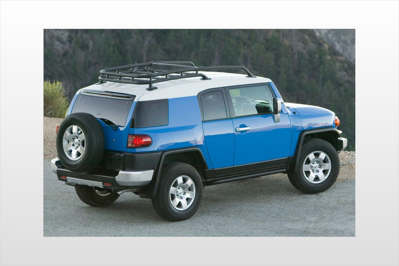 2007 toyota fj cruiser information and photos zombiedrive. Black Bedroom Furniture Sets. Home Design Ideas