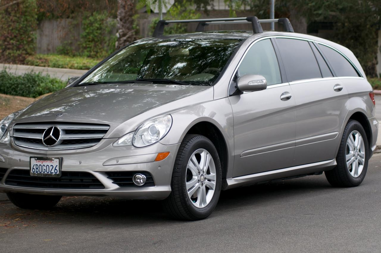 2008 mercedes benz r class information and photos
