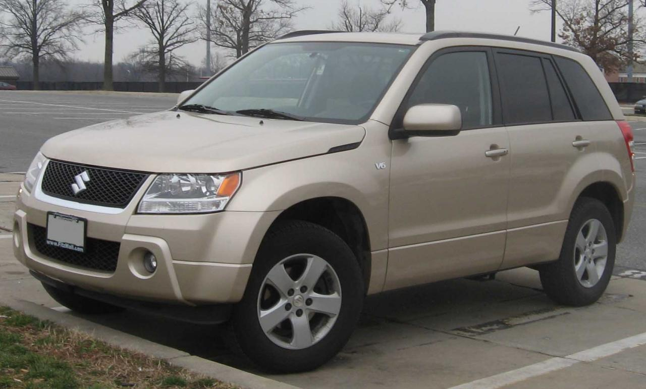 2008 suzuki grand vitara information and photos. Black Bedroom Furniture Sets. Home Design Ideas