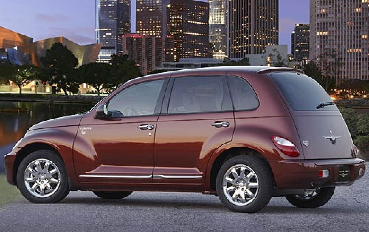 2008 chrysler pt cruiser information and photos zombiedrive. Black Bedroom Furniture Sets. Home Design Ideas