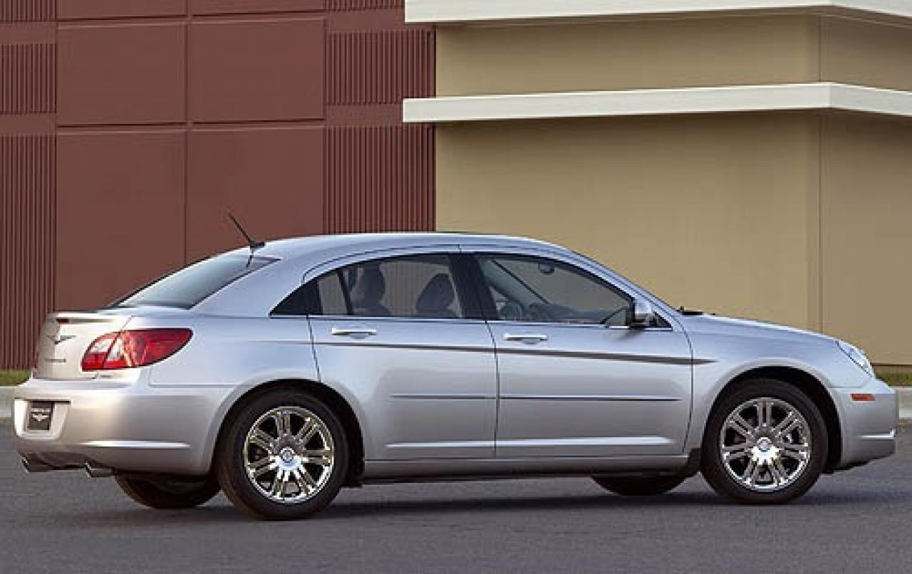 2008 chrysler sebring information and photos zombiedrive. Cars Review. Best American Auto & Cars Review