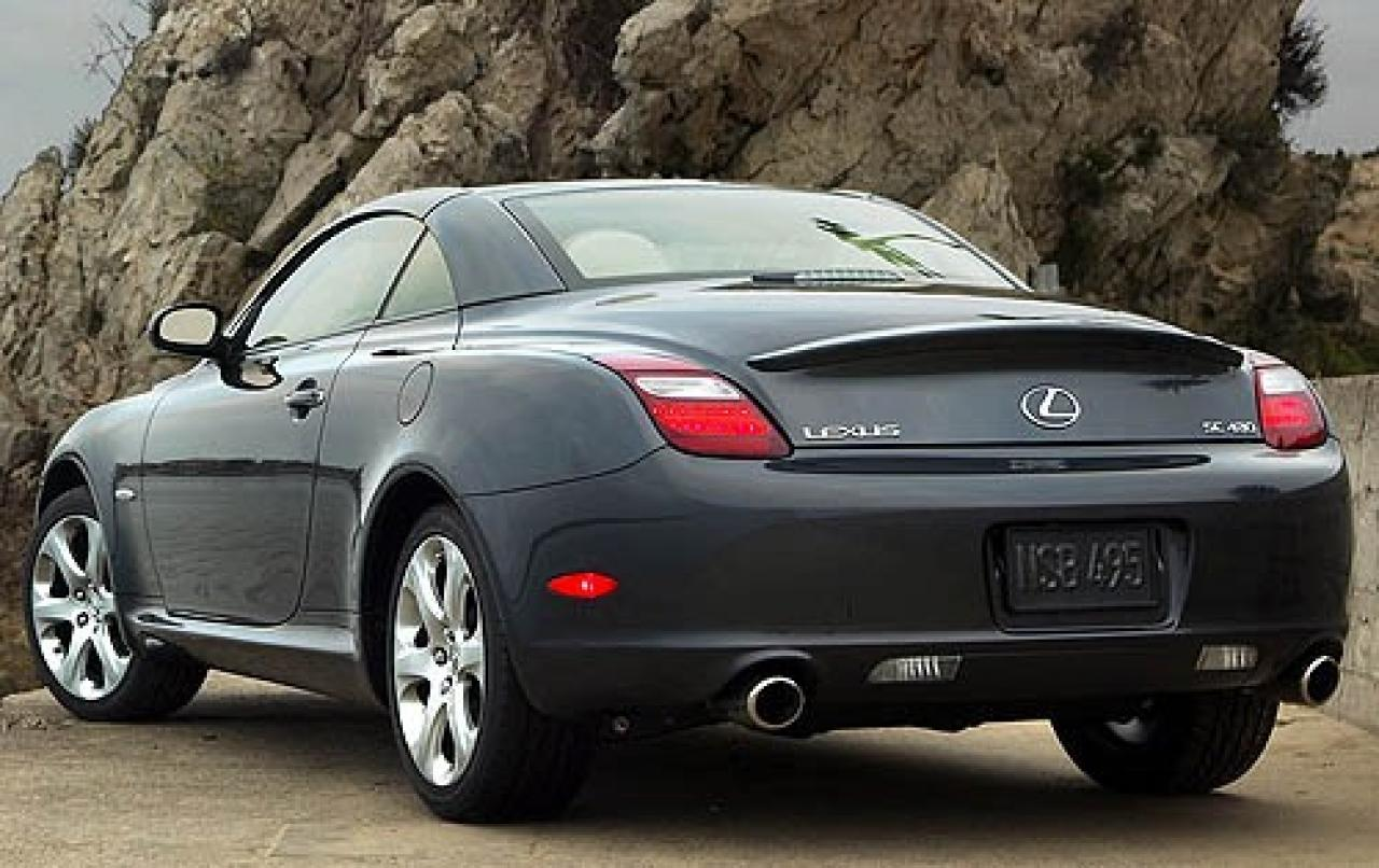 2008 lexus sc 430 information and photos zombiedrive. Black Bedroom Furniture Sets. Home Design Ideas