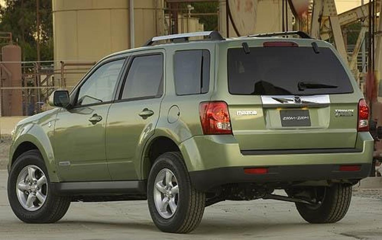 2009 mazda tribute hybrid information and photos zombiedrive. Black Bedroom Furniture Sets. Home Design Ideas