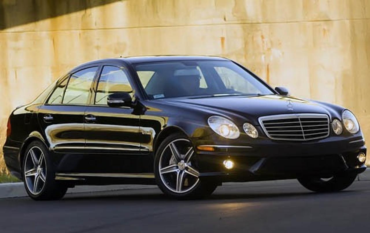 2008 mercedes benz e class information and photos for Mercedes benz amg e class