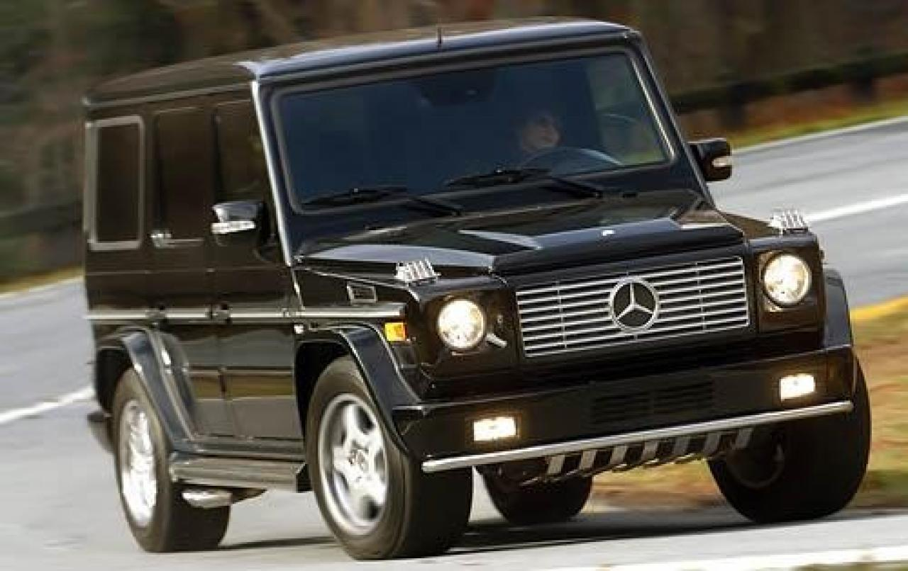 Mercedes Benz G Class Information And Photos Zombiedrive