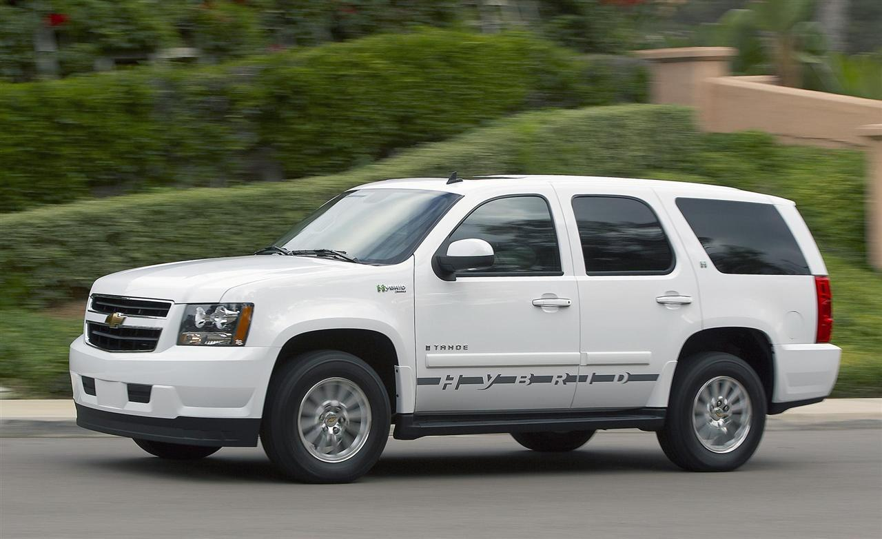 2009 chevrolet tahoe hybrid information and photos zombiedrive. Black Bedroom Furniture Sets. Home Design Ideas