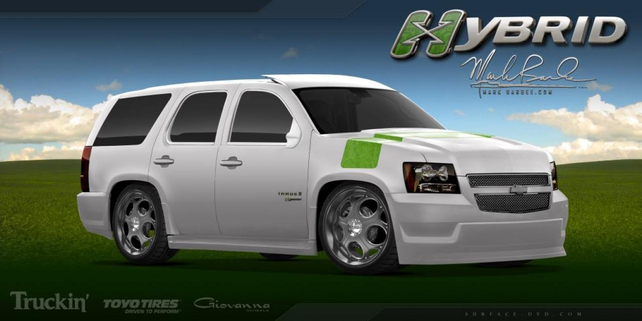 2009 chevrolet tahoe hybrid information and photos zombiedrive. Cars Review. Best American Auto & Cars Review