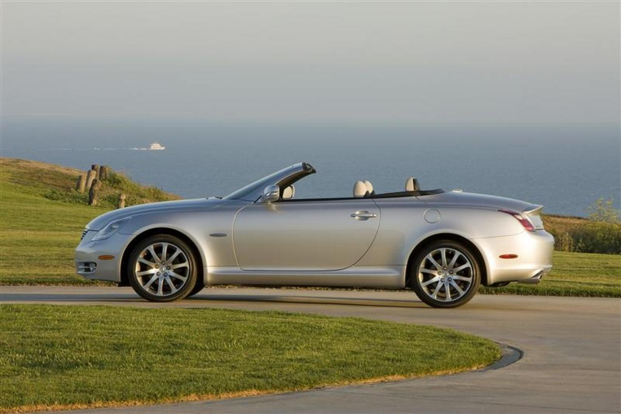 2009 lexus sc 430 information and photos zombiedrive. Black Bedroom Furniture Sets. Home Design Ideas