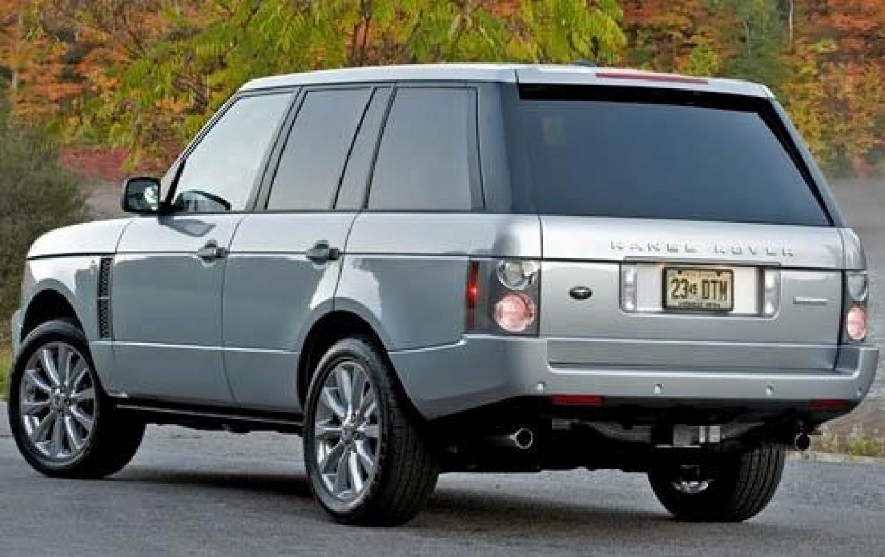 2009 land rover range rover information and photos. Black Bedroom Furniture Sets. Home Design Ideas