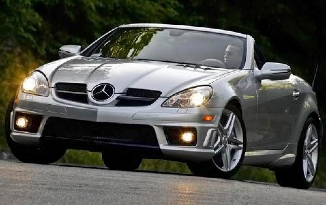 2009 mercedes benz slk class information and photos zombiedrive. Black Bedroom Furniture Sets. Home Design Ideas