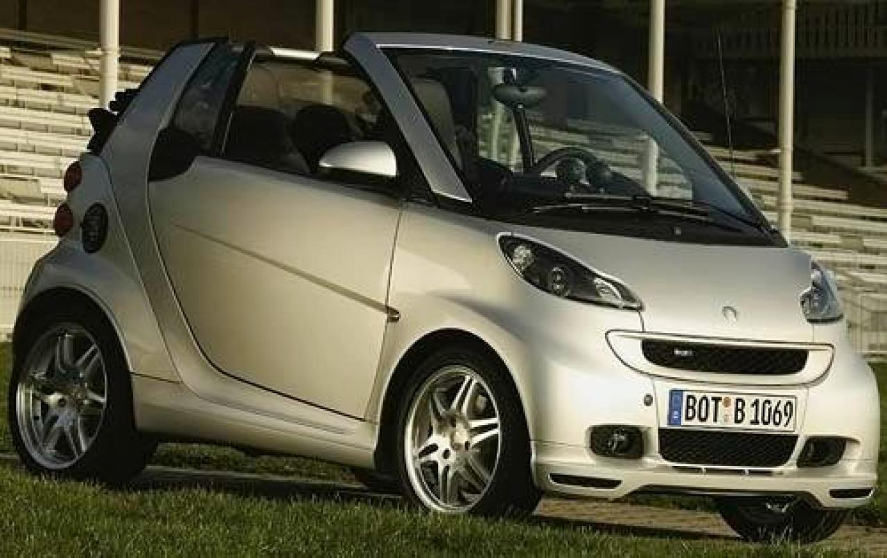 2009 smart fortwo information and photos zombiedrive. Black Bedroom Furniture Sets. Home Design Ideas