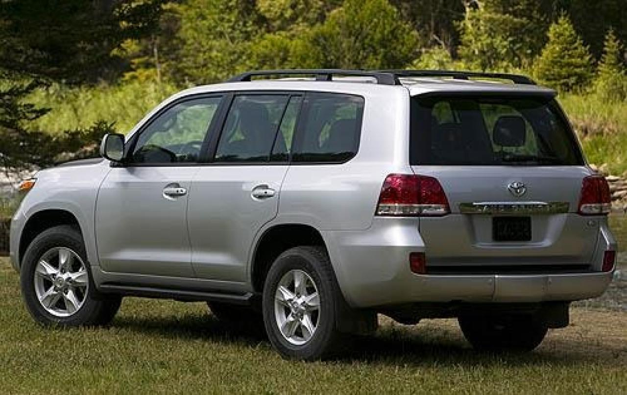2009 toyota land cruiser information and photos zombiedrive. Black Bedroom Furniture Sets. Home Design Ideas