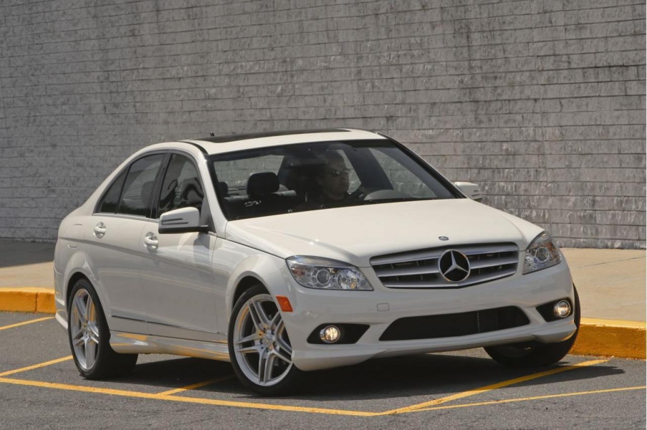 2010 mercedes benz c class information and photos. Black Bedroom Furniture Sets. Home Design Ideas
