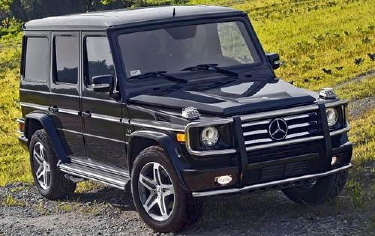 2011 mercedes benz g class information and photos for Mercedes benz g class used 2003