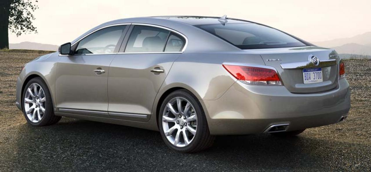 2011 Buick Lacrosse Information And Photos Zombiedrive