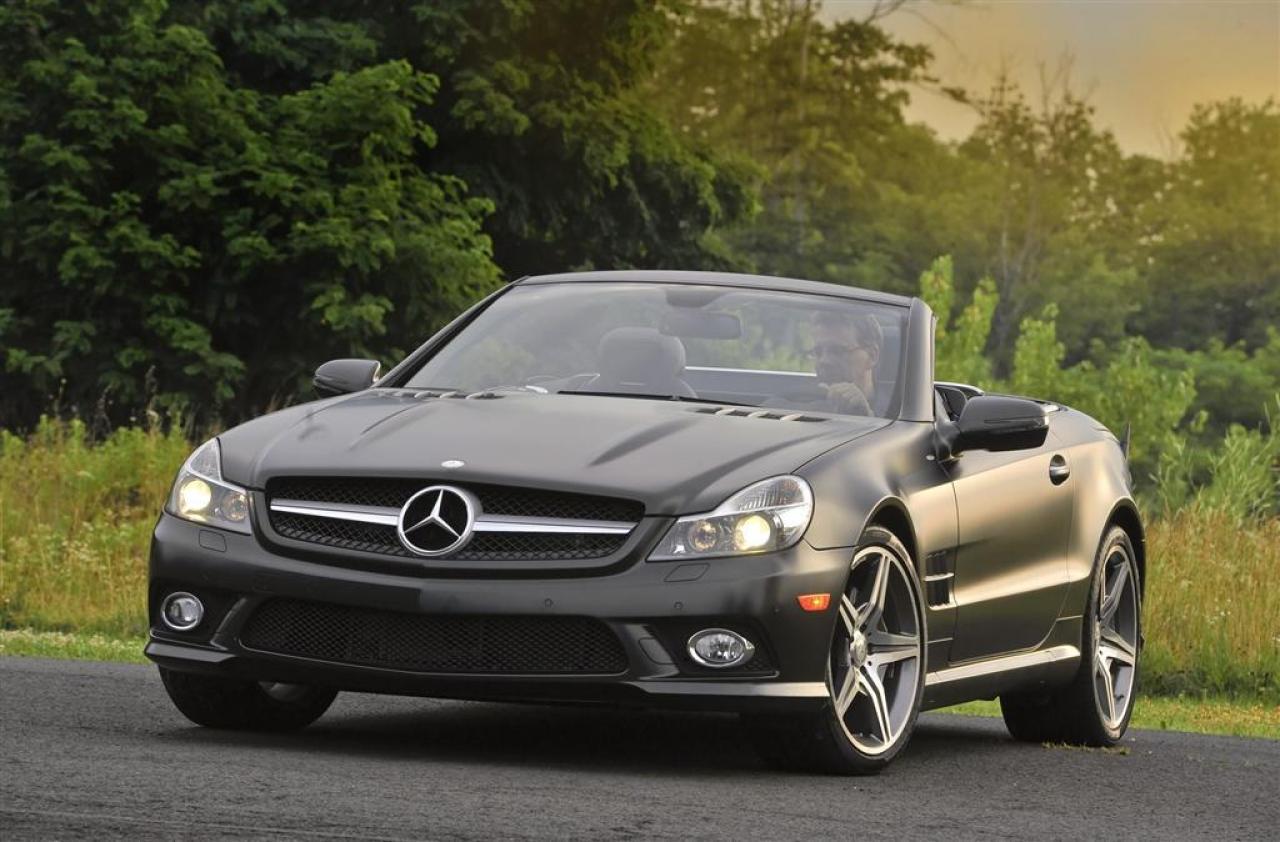 2011 Mercedes Benz Sl550 Convertible >> 2011 Mercedes-Benz SL-Class - Information and photos - ZombieDrive