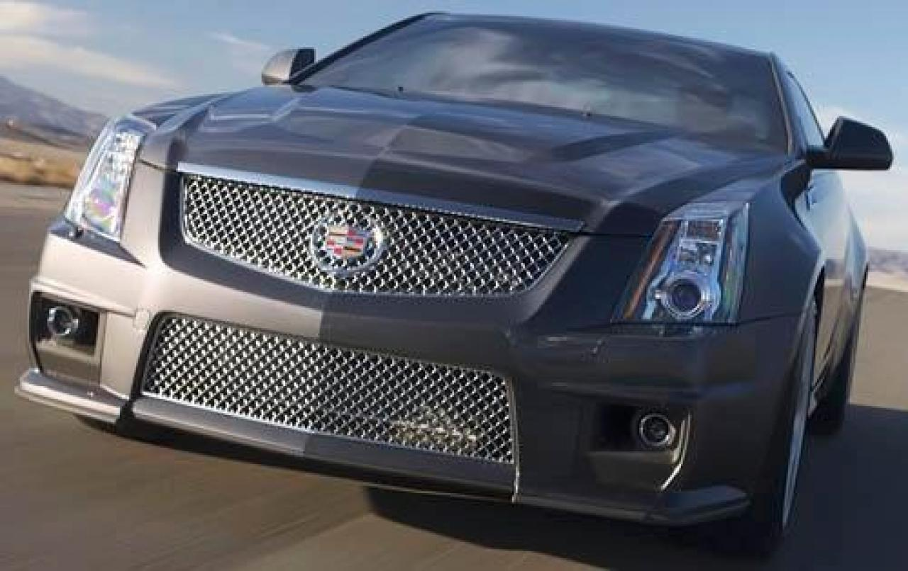 2011 cadillac cts v coupe information and photos zombiedrive. Black Bedroom Furniture Sets. Home Design Ideas