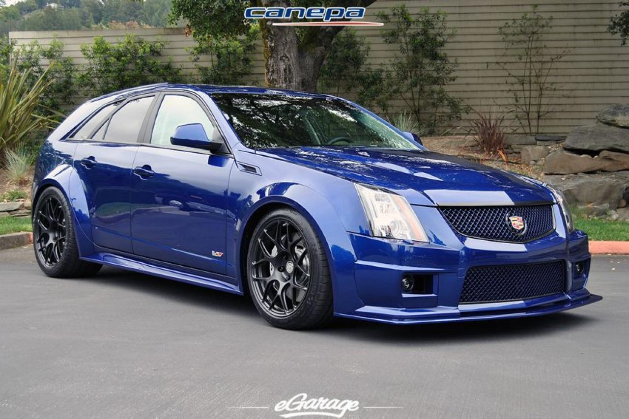 2012 Cadillac Cts V Wagon Information And Photos