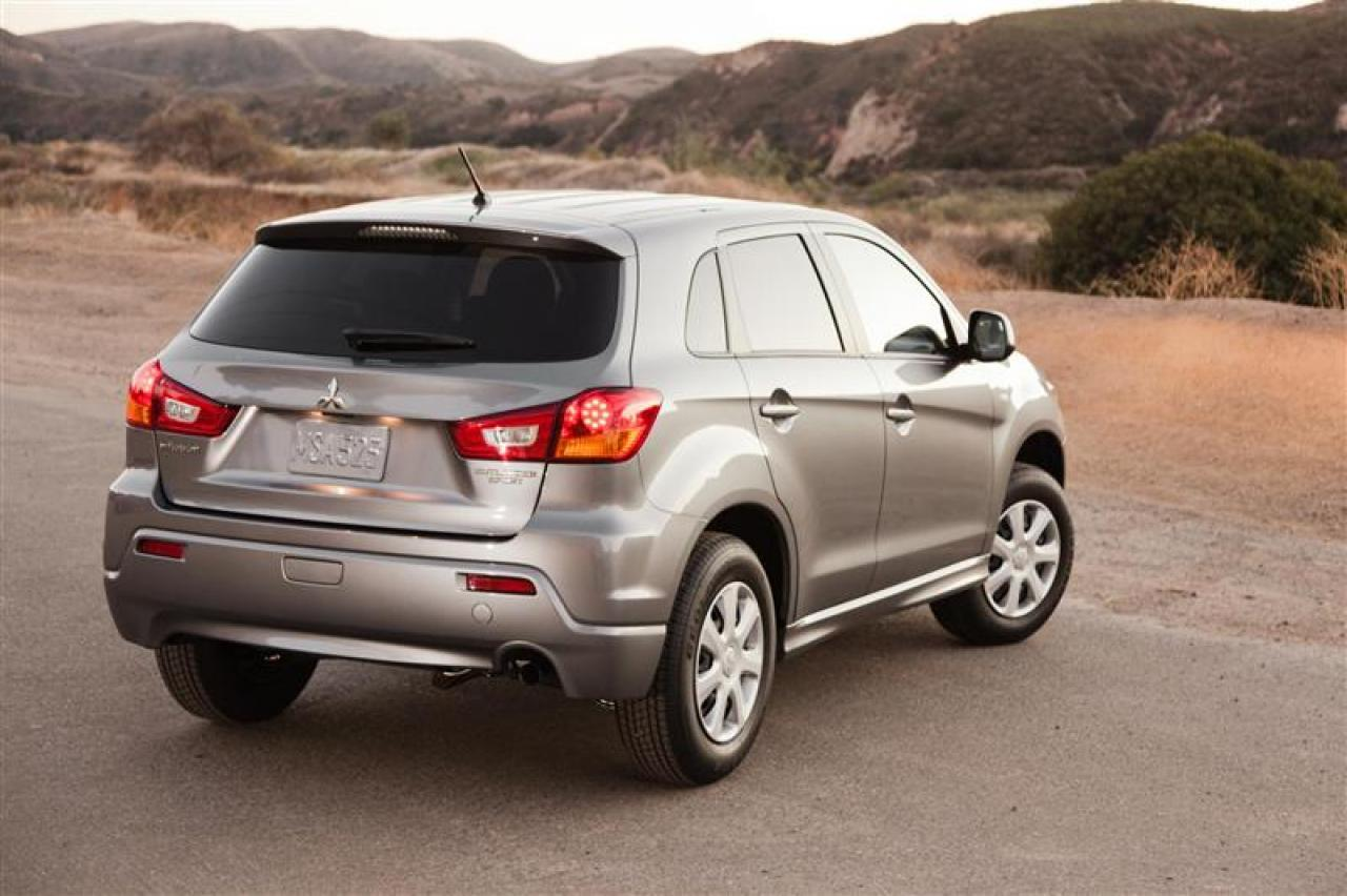 2012 mitsubishi outlander sport information and photos. Black Bedroom Furniture Sets. Home Design Ideas