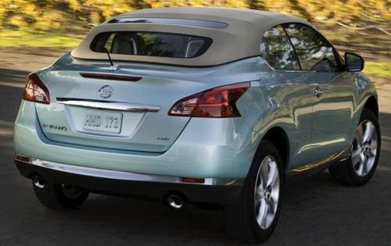 2012 nissan murano crosscabriolet information and photos zombiedrive. Black Bedroom Furniture Sets. Home Design Ideas