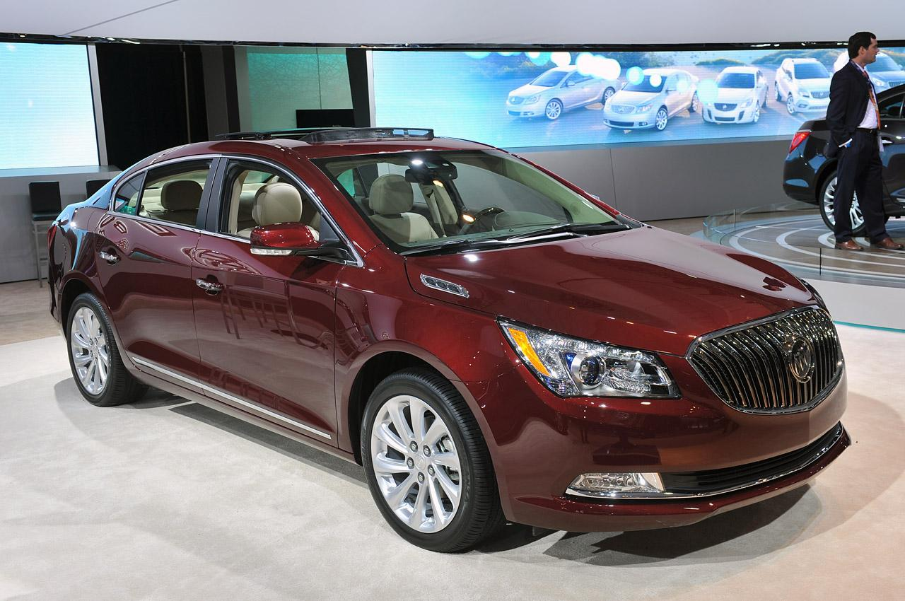2014 buick lacrosse information and photos zombiedrive. Black Bedroom Furniture Sets. Home Design Ideas