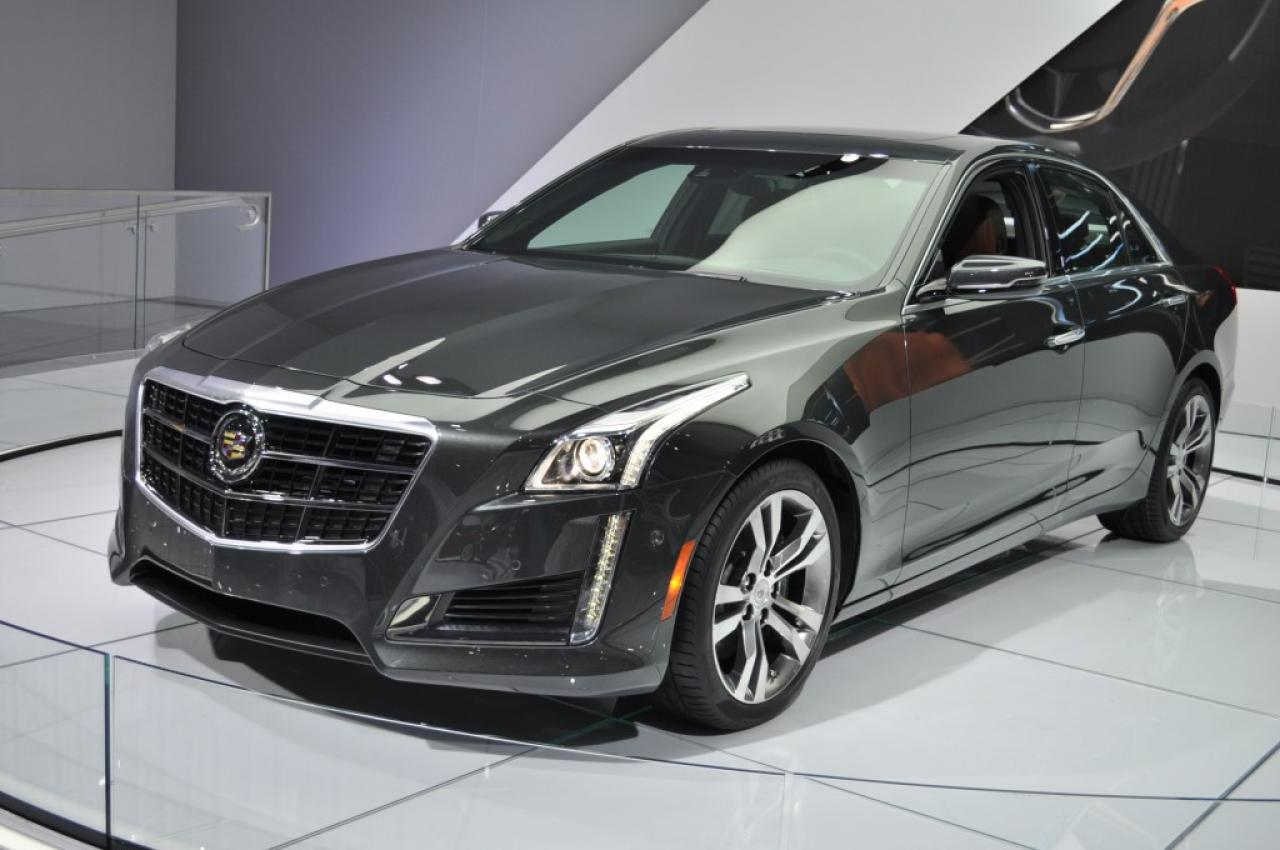 2014 Cadillac CTS Coupe  Information and photos  ZombieDrive