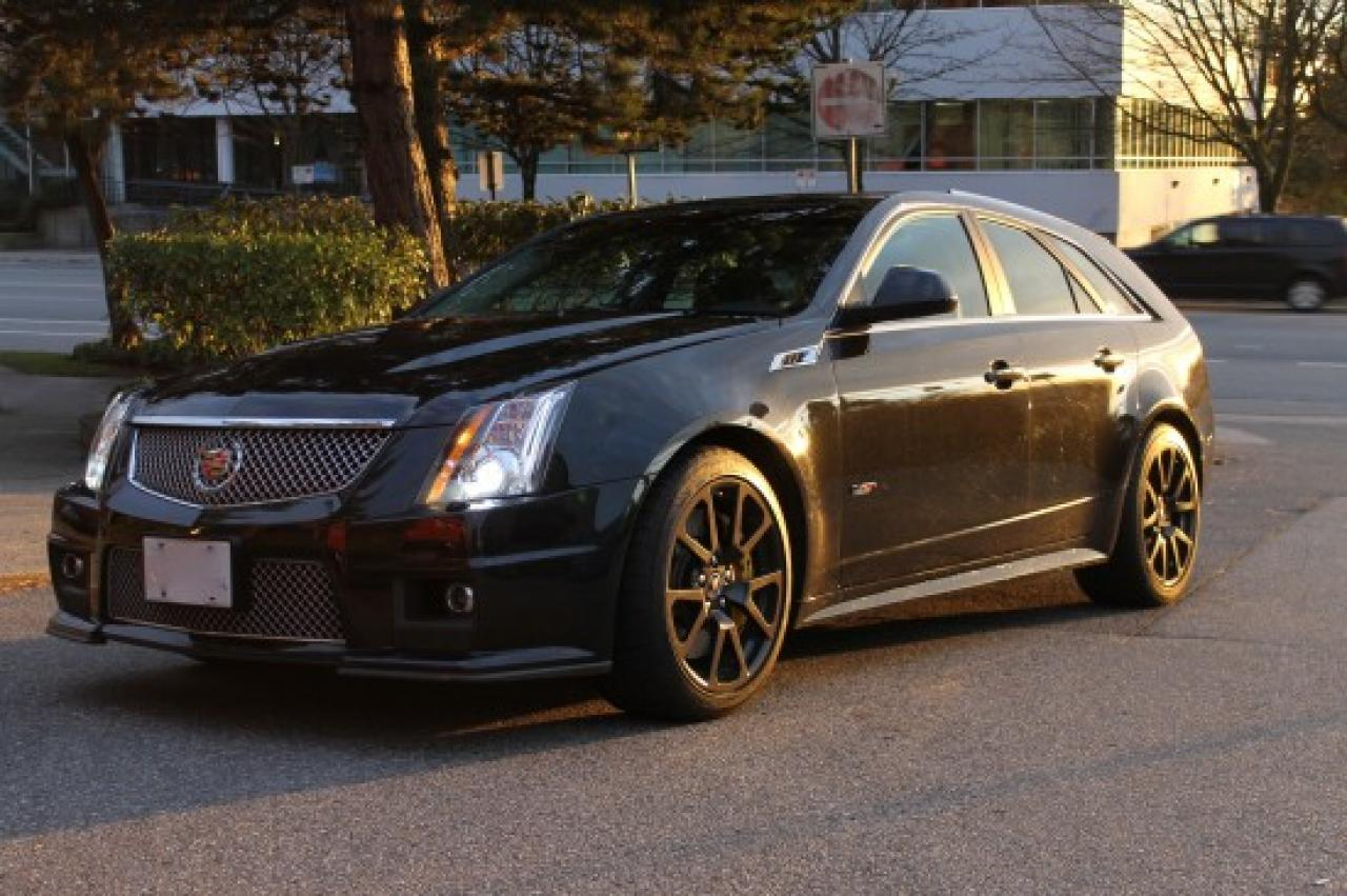 Cts V Wagon For Sale >> 2014 Cadillac CTS-V Wagon - Information and photos - ZombieDrive