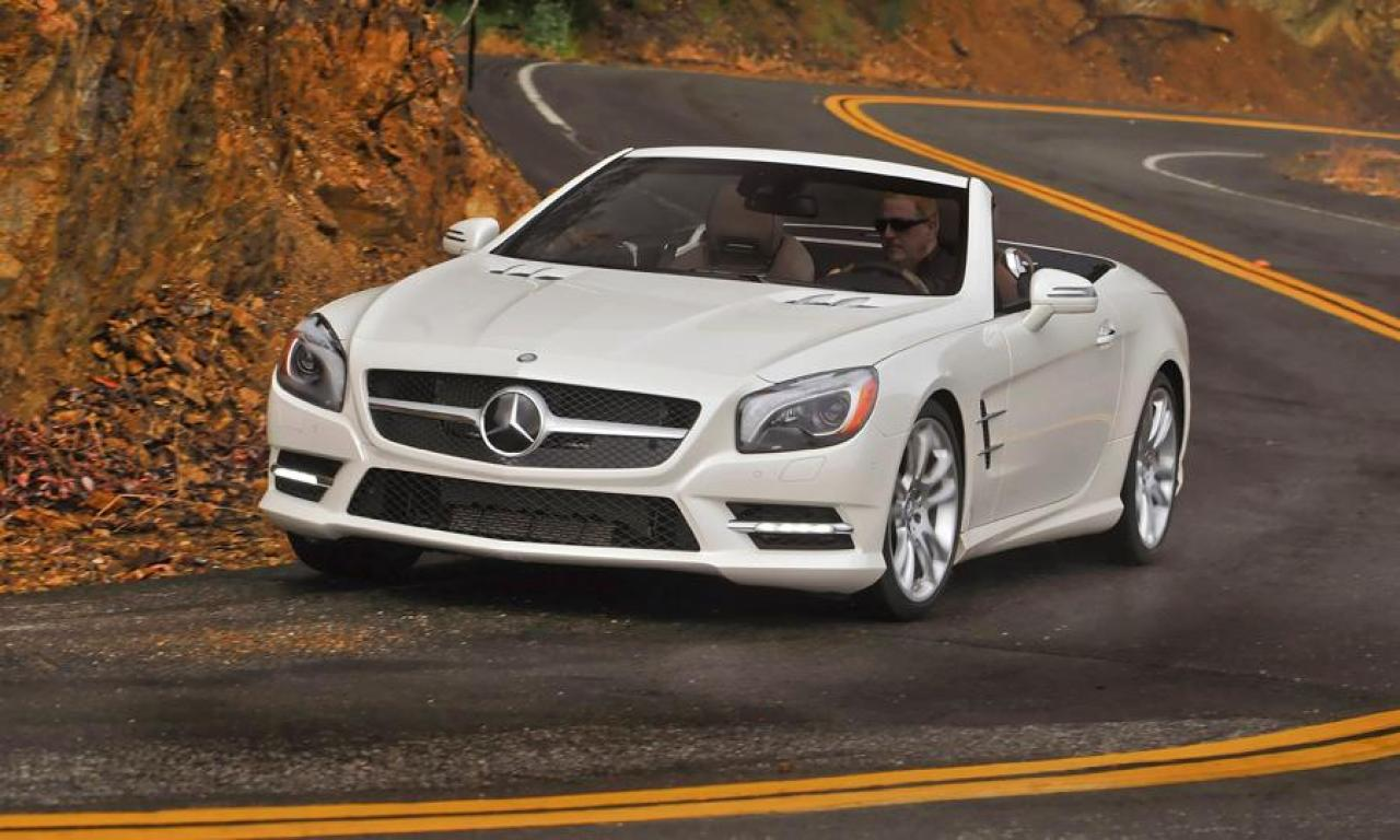 2014 mercedes benz sl class information and photos. Black Bedroom Furniture Sets. Home Design Ideas