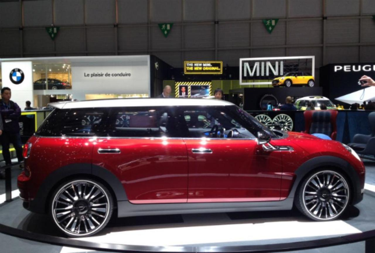 2014 mini cooper clubman information and photos. Black Bedroom Furniture Sets. Home Design Ideas