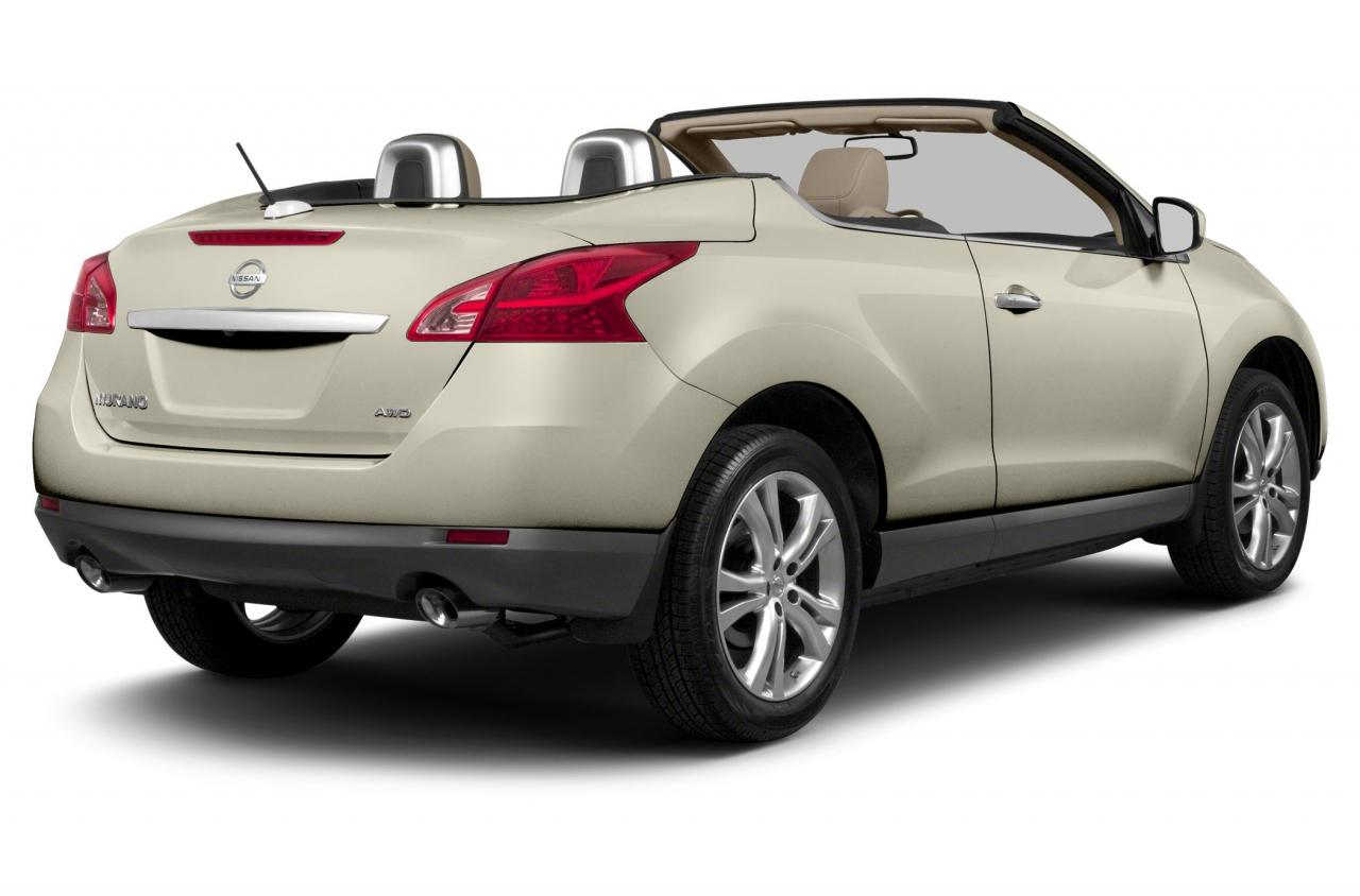 2014 nissan murano crosscabriolet information and photos zombiedrive. Black Bedroom Furniture Sets. Home Design Ideas