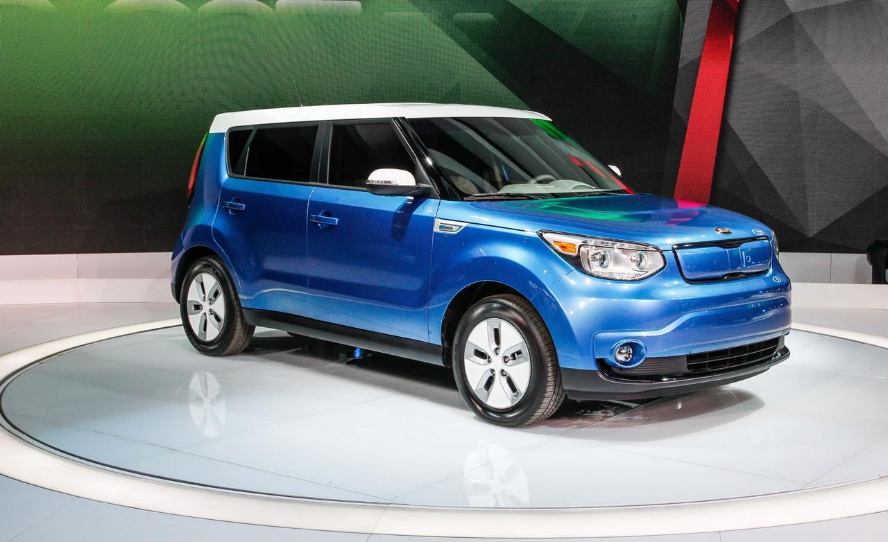2015 kia soul ev information and photos zombiedrive. Black Bedroom Furniture Sets. Home Design Ideas